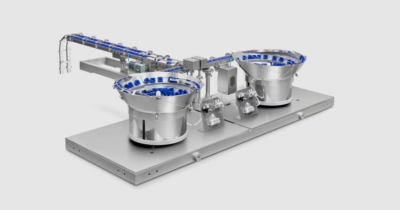 equipamentos de maquinaria para industria alimentícia para contagem e verificação de produtos eficazes
